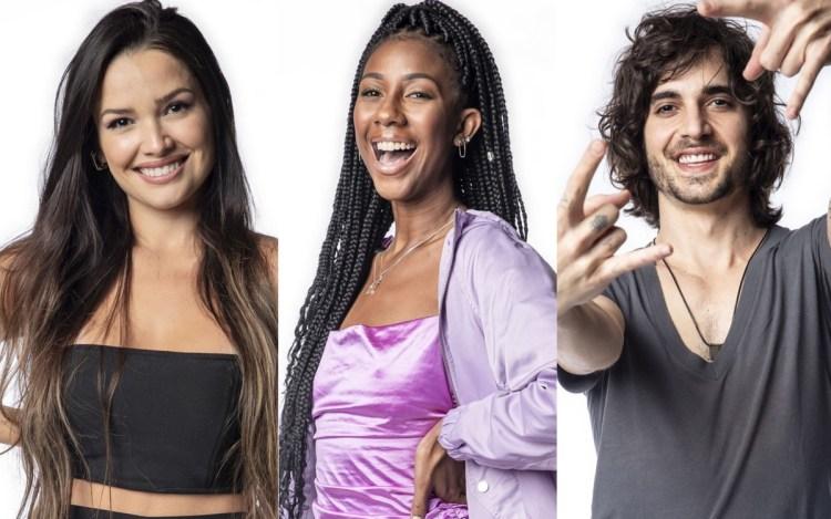 Enquete BBB21: Juliette, Camilla e Fiuk, quem deve ganhar? (Foto: Divulgação)