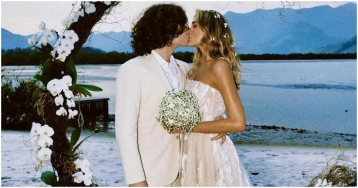 Sasha criou seu próprio vestido de casamento e gastou R$ 60 mil (Foto: Reprodução)