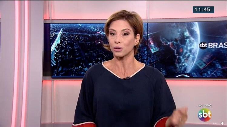 Neila Medeiros acabou sendo demitida do SBT (Foto: Reprodução)