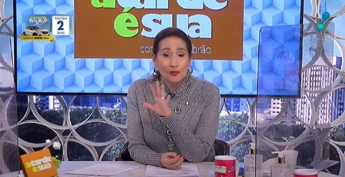 Jornalista Sonia Abrão falou de Ana Maria (Foto: Reprodução)