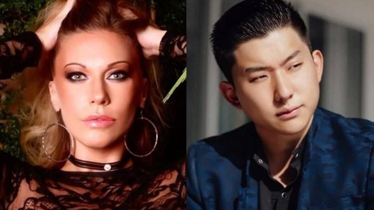 Antonela e Pyong Lee