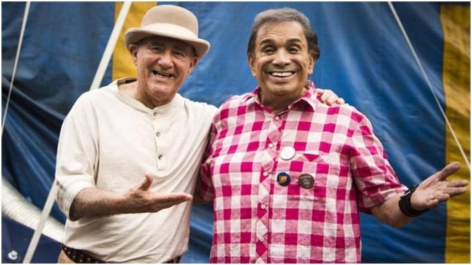Dedé Santana e Renato Aragão (Foto: Reprodução)