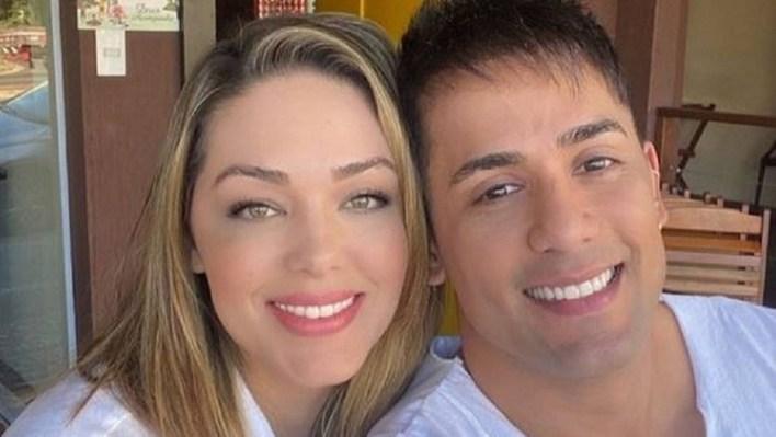 Cantor Tiago e Tânia Mara (Foto: Reprodução)