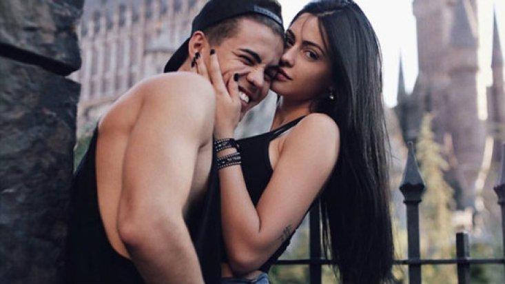 Biel e Duda Castro (Foto: Reprodução)