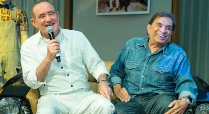 Renato Aragão e Dedé Santana trabalharam juntos durante anos (Foto: Reprodução)