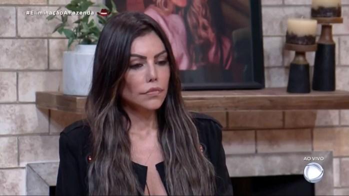 Liziane Gutierrez é eliminada de A Fazenda 13 (Foto: Reprodução])