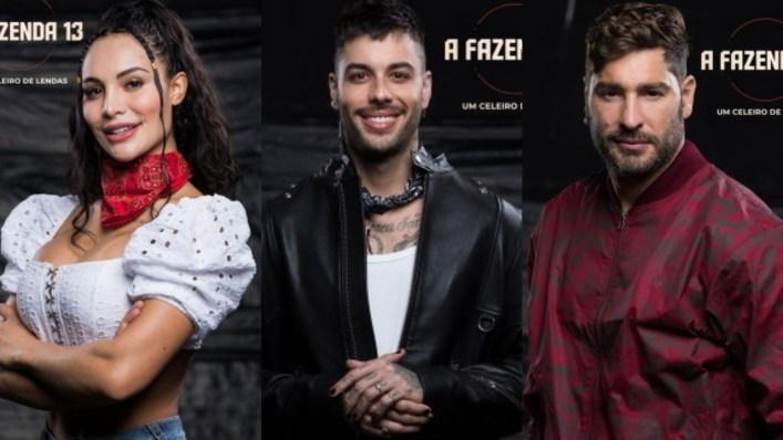 Enquete A Fazenda 13: Aline, Gui Araújo e Victor. Quem deve FICAR? Vote! (Foto: Divulgação)