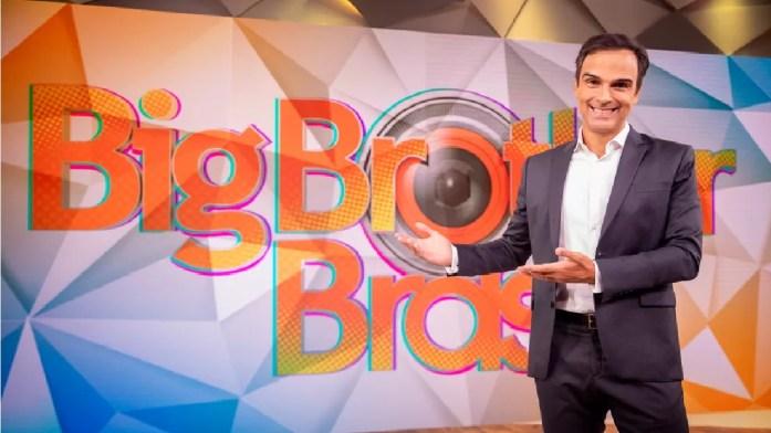 O apresentador do reality da Globo, BBB, Tadeu Schmidt (Foto: Reprodução)