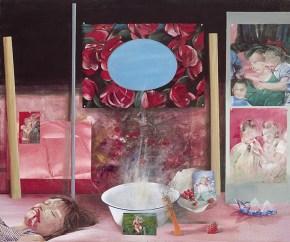 Άννα Καρίνα, ακρυλικό σε καμβά, 172x130 cm, 1974