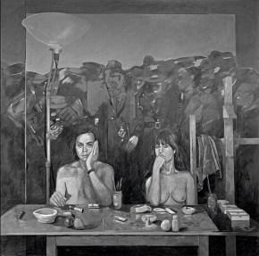 Αντανάκλαση, λάδι σε καμβά, 180x180 cm, 1979
