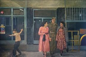 Απτάλικος χορός, λάδι σε καμβά, 100x160 cm, 1978