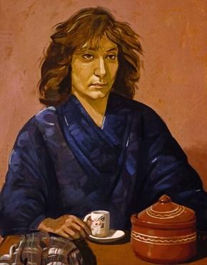 Ασημένια, λάδι σε καμβά, 70x50 cm, 1979