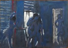 Εκδίκηση, λάδι σε ξύλο, 60x40 cm, 1998