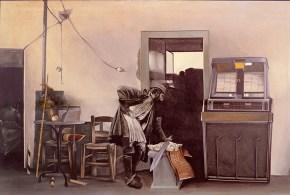 Ζεϊμπέκικο, ακρυλικό σε καμβά, 110x160, 1975