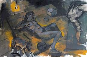 Η μικρή Πατρίς, λάδι σε καμβά, 80x120 cm, 2009 Young Patris; oil on canvas; 80x120 cm, 2009