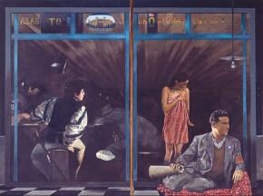 Οπλουργείον Κουρμπέ, λάδι σε καμβά, 130x205 cm, 1977