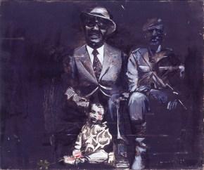 Πατέρας-γιος, λάδι σε καμβά, 60x80 cm, 1967