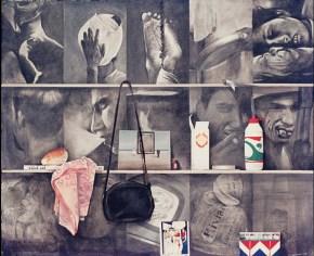 Ράφια με Ρόι Λίχνενσταϊν, ακριλυκό σε καμβά, 100x120 cm, 1974