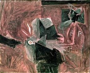 Στρατιώτης, λάδι σε καμβά, 50x60 cm 1964