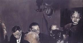 Το γεύμα, λάδι σε καμβά, 70x 120 cm, 1969
