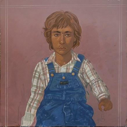 Aris I, egg tempera on wood, 61x61 cm, 1982