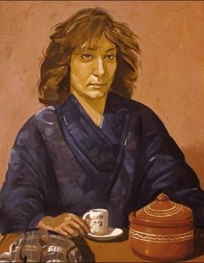 Assimenia, oil on canvas, 70x50 cm, 1979