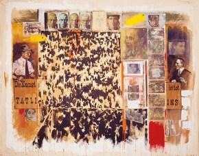 Die Kunst ist tot, acrylic on canvas, 260x330 cm, 2001