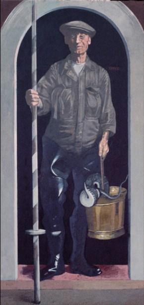 Dimos, oil on canvas, 160x75, 1982