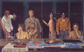 Four Seasons (to Tsarouhis), oil on canvas, 127x205 cm, 1978