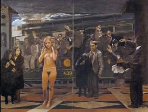 Iphigenia, oil on canvas, 150x200 cm, 1979