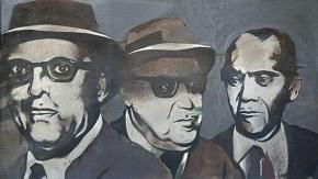 Junta, oil on canvas, 70x120 cm, 1965