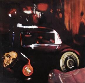 Katia I, acrylic on canvas, 140x140 vm 1987