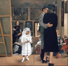 Las Meninas, oil on canvas, 200x200 cm, 1976