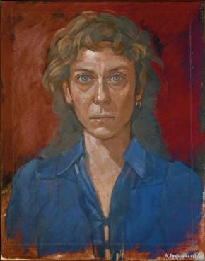 Maria, oil on canvas, 60x40 cm, 1977