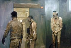 Prison III, oil on canvas, 120x180 cm, 2009