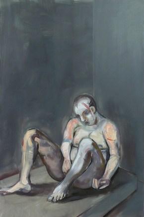 Prisoner, oil on canvas, 120x100 cm, 2010