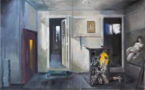 The studio, oil on canvas, 100x160 cm, 2009