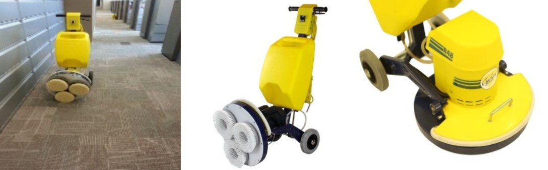 Low Moisture Cleaning Systems