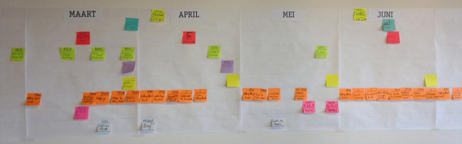 papieren content calendar