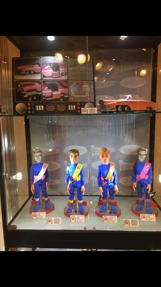 Big Chief Studios Thunderbirds Characters and FAB1