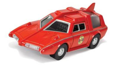 Captain Scarlet Saloon car delay