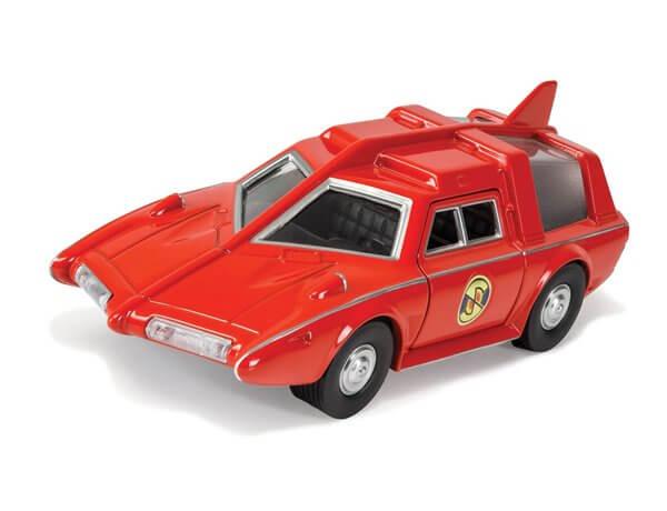 Captain Scarlet Saloon car delay