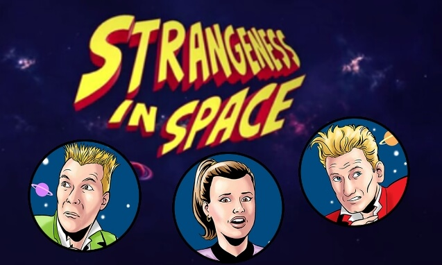 Sophie Aldred in Strangeness In Space