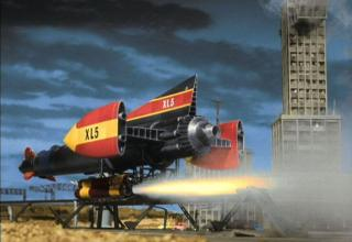 Gerry Anderson Shows on Netflix - Fireball XL5?