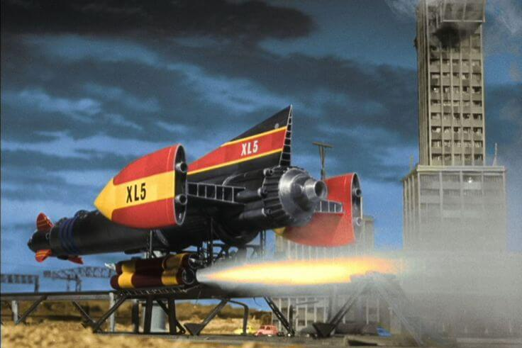 Gerry Anderson Shows on Netflix - Fireball XL5?