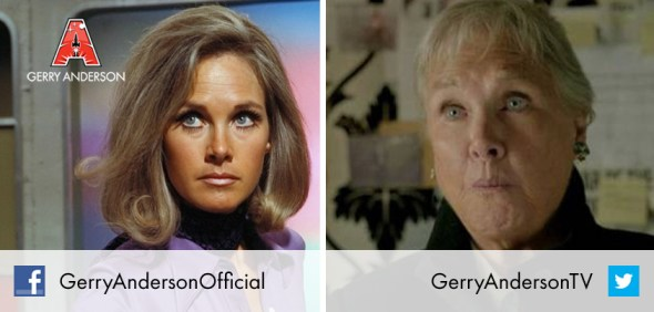 """Some of you know her as """"Colonel Virginia Lake"""" from UFO but Benedict Cumberbatch knows her as """"Mum"""" - both on and off screen!"""