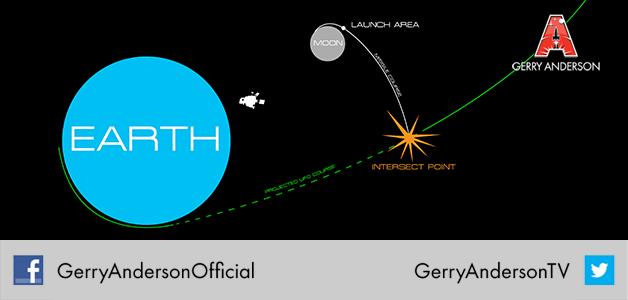 UFO Interceptor missile path