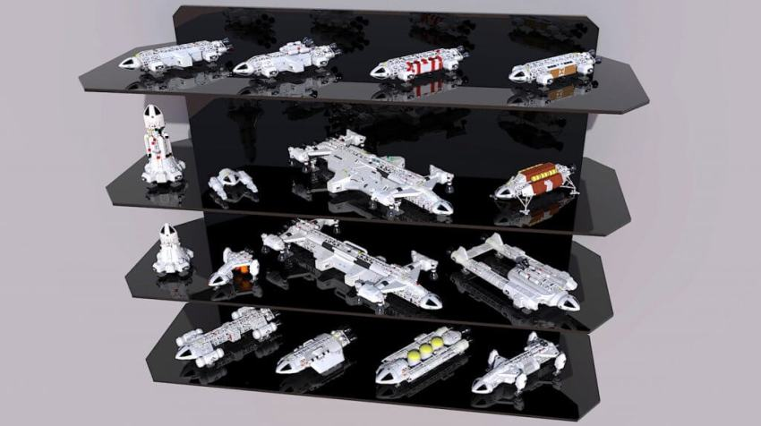 Space 1999 Eagle Transporters