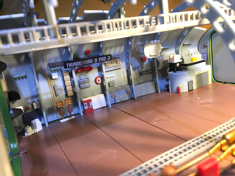 Build Thunderbird 2 - Inside the Pod