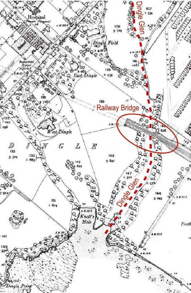 Dingle OS map 1908